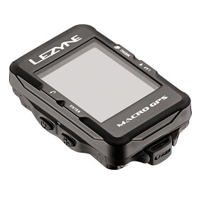 Lezyne Macro Cycle Computer With Heart Rate Monitor and Speed Cadence Sensor black